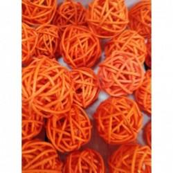 шар ротанг оранжевый ,...