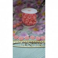 цветок на нитке  розовый 1м